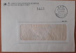 Portugal - COVER - Franchise / AVENÇA - Cancel: Porto EAP (1982) - Telefones De Lisboa E Porto - Franchise