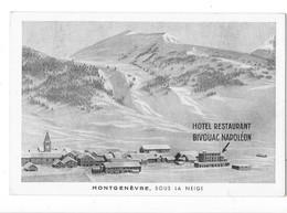 MONTGENEVRE (05) Village Sous La Neige Hotel Bivouac Napoléon - Other Municipalities
