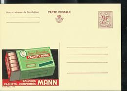 Publibel Neuve N° 2203A  ( Poudres MANN   Contre Maux De Tête , Dents , Etc ...  En Pharmacie) - Enteros Postales