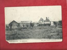 CPA Très Très  Abîmée -  Contreuve  - Le Château - Autres Communes
