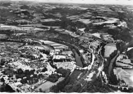 81 - ROQUECOURBES :  Vue Générale Aérienne - CPSM Village (2.240 Habitants ) Dentelée N/B Grand Format 1963 - Tarn - Roquecourbe