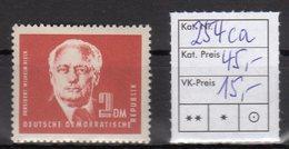 DDR Mi.-Nr. 254 Ca, Postfrisch, Sign.BPP. - [6] Democratic Republic