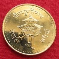Nepal 5 Rupees 1994  UNCºº - Népal