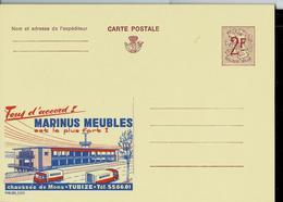 Publibel Neuve N° 2223  ( MARINUS Meubles à Tubize) - Enteros Postales