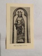 (M2) Souvenir De La Mission Paroissiale Prêchée Du 24 Septembre Au 8 Octobre 1950. Notre Dame De Theux (1510). - Images Religieuses