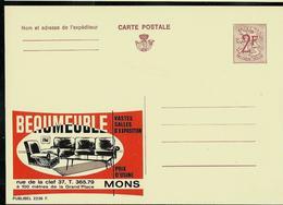 Publibel Neuve N° 2236 ( BEAUMEUBLE à Mons) - Enteros Postales