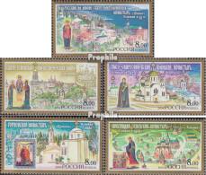 Russland 1149-1153 (kompl.Ausg.) Postfrisch 2004 Klöster - Unused Stamps