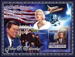 S.TOME E PRINCIPE 2007 - J.F. Kennedy - BF - Kennedy (John F.)