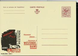 "Publibel Neuve N° 2240  (Agence ""LA FOURMI""  Westende-Bad - Bains) - Werbepostkarten"
