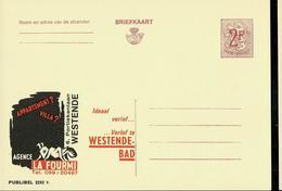 "Publibel Neuve N° 2242  (Agence ""LA FOURMI""  Westende-Bad - Bains) - Enteros Postales"