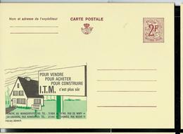 Publibel Neuve N° 2244 ( Agence I.T.M.   Hainaut) - Werbepostkarten