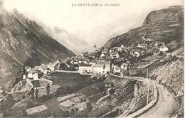 LA GRAVE   ( H Alpes  )  VUE  GÉNÉRALE - Other Municipalities