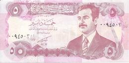 IRAK 5 DINARS 1992 UNC P 80 - Iraq
