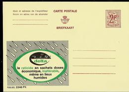 Publibel Neuve N° 2246 ( DELTA  Raticide En Sachets; Ou Adoptez Un Chat) - Werbepostkarten