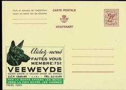 Publibel Neuve N° 2249  ( VEEWEYDE - Chien - Dog - Aidez Les  - Lutte Contre La Cruauté Envers Les Animaux) - Werbepostkarten
