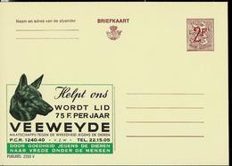 Publibel Neuve N° 2250  ( VEEWEYDE - Chien - Dog - Aidez Les  - Lutte Contre La Cruauté Envers Les Animaux) - Werbepostkarten