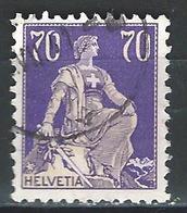 CC-/-290-  N° 207a, Papier Grillé, Obl.,  Cote 4.00 € . Je Liquide - Switzerland