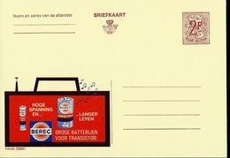Publibel Neuve N° 2254 ( Piles BEREC  Pour Transistors - Electricty ) - Werbepostkarten