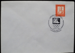 1998 URUGUAY FDC POSTMARK EXPO PHILA INTERNATIONAL OLYMPIC GAMES SUIZA SWITZERLAND JJOO Jeux Olympiques - Uruguay