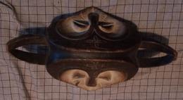 Congolees Masker Kwele Met 2 Gezichten - Art Africain