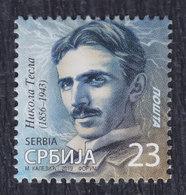 Serbia 2019 Nikola Tesla, MNH (**) - Serbia