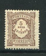 PORTUGAL- Timbre Taxe Y&T N°7- Neuf Avec Charnière * - Portomarken