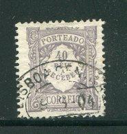 PORTUGAL- Timbre Taxe Y&T N°11- Oblitéré - Portomarken