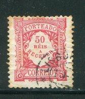 PORTUGAL- Timbre Taxe Y&T N°12- Oblitéré - Port Dû (Taxe)