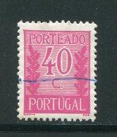 PORTUGAL- Timbre Taxe Y&T N°62- Oblitéré - Port Dû (Taxe)