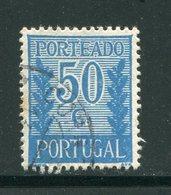 PORTUGAL- Timbre Taxe Y&T N°63- Oblitéré - Port Dû (Taxe)