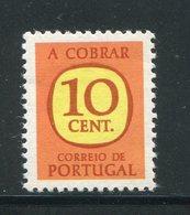 PORTUGAL- Timbre Taxe Y&T N°69- Oblitéré - Port Dû (Taxe)