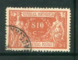 PORTUGAL- Colis Postaux Y&T N°4- Oblitéré - Colis Postaux