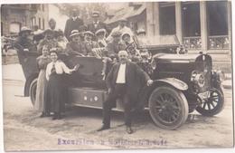 Excursion Au Mullerthal 1914 - E. Capgen - Photocard - & Old Cars - Non Classificati
