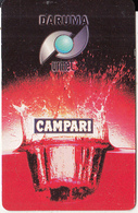 BRAZIL(Daruma) - Campari, Daruma/Urmet Inductive Card, Unused - Brasile