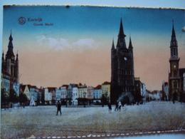 Kortrijk  Groote Markt - Kortrijk