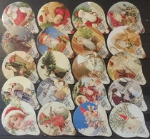 20 KRD Schweiz - St. Nikolaus - Weihnachten  - 779 - Gastro - Milk Tops (Milk Lids)