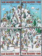 San Marino 1700-1703 (kompl.Ausg.) Postfrisch 1997 Alpine Ski-WM - Neufs