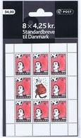 Denmark 2003;  Sport.  Sheetlet With 8 Stamps In Unopened Sales Folder.  MNH (**). - Blocks & Kleinbögen