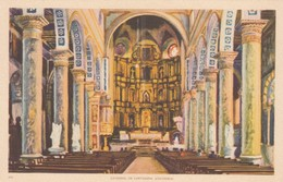 Cartagena , Colombia , 1930s ; Interior Of Cathedral - Colombia