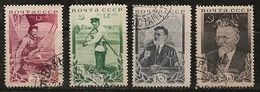 Russie 1935 N° Y&T : 573 à 576 Obl. - Used Stamps