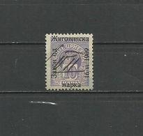 Montenegro 1909, Used - Montenegro