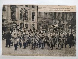 Mons. Fêtes Carnavalesques 1914. Académie Culinaire De Bruxelles - Mons