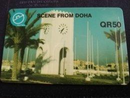 QATAR   PAY PHONE  PREPAID AUTELCA        **1032** - Qatar