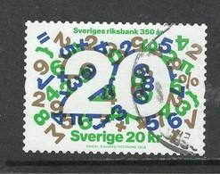 Zweden 2018, Yv 3195,  Hoge Waarde, Gestempeld - Suède