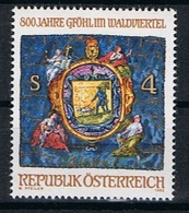 Oostenrijk Y/T 1535 (**) - 1945-.... 2ème République