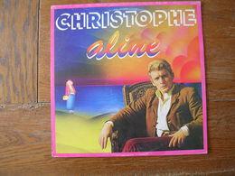 """33 Tours 30 Cm - CHRISTOPHE   - MOTORS 77014   """" ALINE """" + 10 - Vinyl-Schallplatten"""