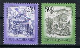 Oostenrijk Y/T 1539 / 1540 (**) - 1945-.... 2ème République