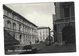 5061 -  PAVIA PIAZZALE DELLE POSTE ANIMATA 1950 CIRCA - Pavia