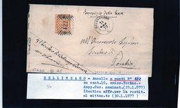 CG29 -  Lettera Da Bellinzago Pèer Pombia 30/1/1877 - Marcophilia