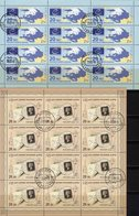 GB Black Penny 2015 Russia 2156+2295Kleinbogen O 64€ EUROPA-Rat Blocs Hoja Sheets S/s Philatelics Sheetlets Bf CEPT - Blocs & Feuillets